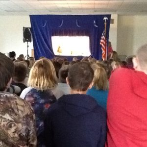 Puppet Show for Madison Elementary students Nov. 20.
