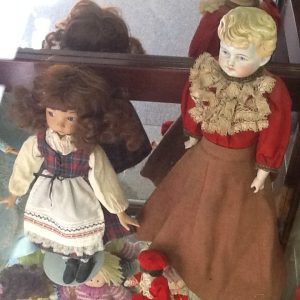 Christmas dolls: Collection of Ann Galbraith